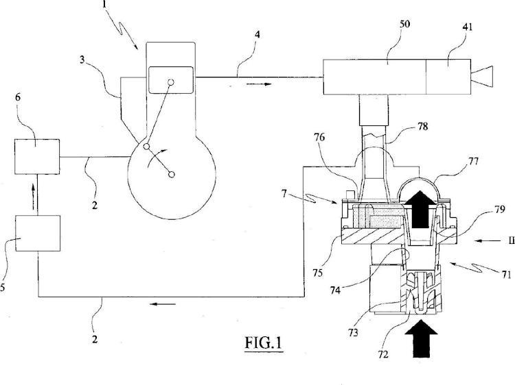 Sistema de purificación para aire de combustión.