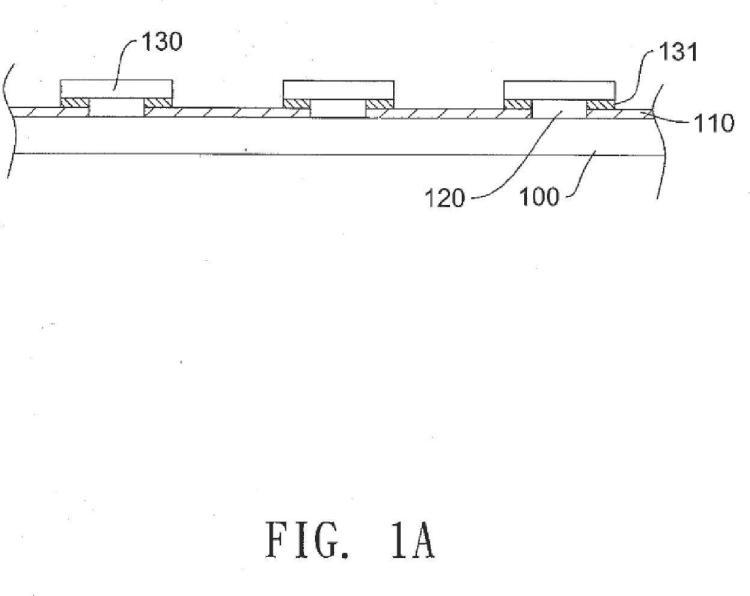Estructura plana de un aparato de iluminación con diodos emisores de luz.