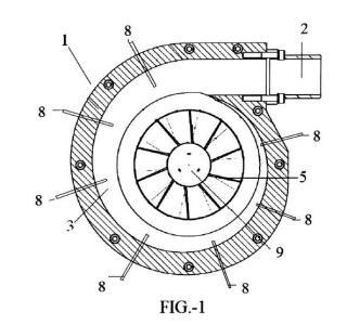 Turbina gasohidraúlica de cavitación controlada.