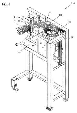 Dispositivo y procedimiento para reemplazar una muela de rectificar.