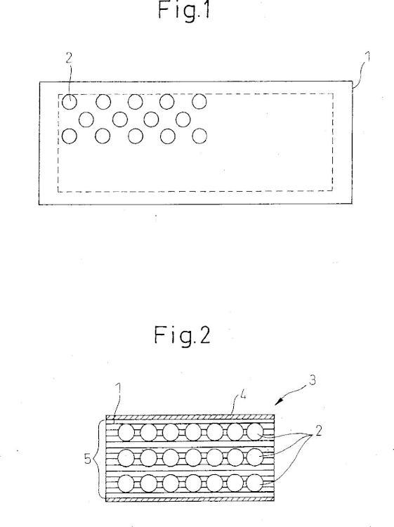 Catalizador sobre soporte metálico con perforaciones para la purificación de gases de escape.