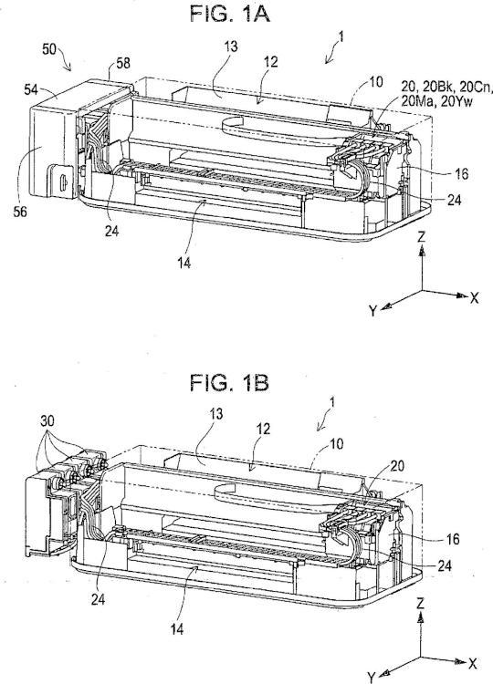 Unidad de depósito y sistema de eyección de líquido con unidad de depósito.