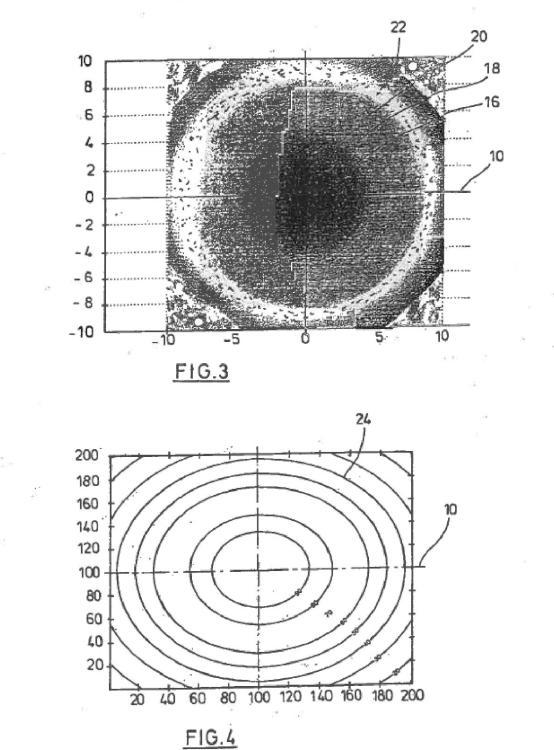 Procedimiento para visualizar la excentricidad de cables durante la medición de la excentricidad de los cables.