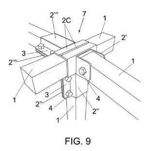 Sistema de construcción de nudos de estructuras tubulares.