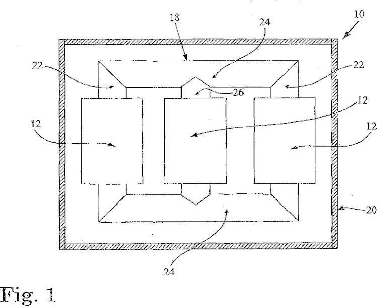Transformador de tipo seco y método de fabricación de un transformador de tipo seco.