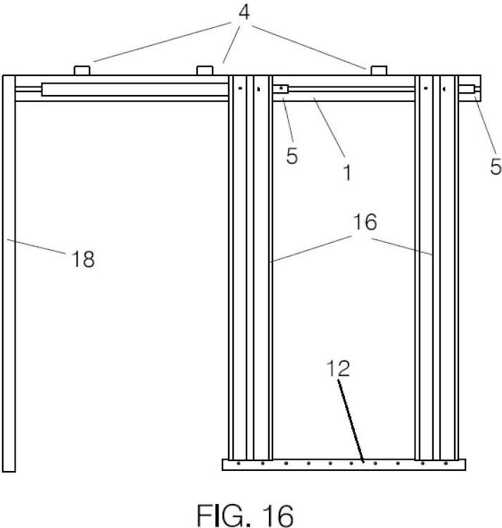 pre marco para puerta corredera