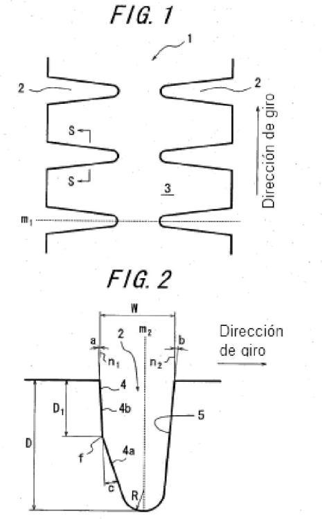 Neumático radial para cargas pesadas.