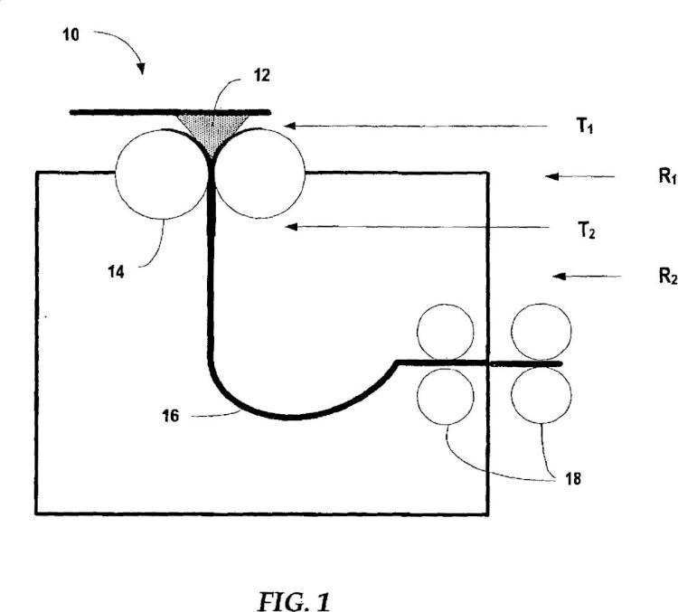 Procedimiento de tratamiento mejorado para la producción de una chapa de acero amorfo nanométrico/casi nanométrico.