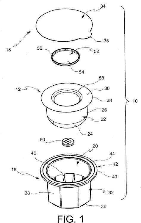 Cápsula para café en polvo o similares y método para hacer dicha cápsula.