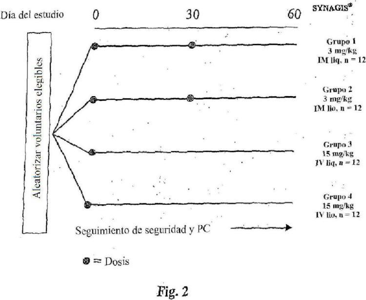 Formulaciones de anticuerpos anti-RSV líquidas estabilizadas.