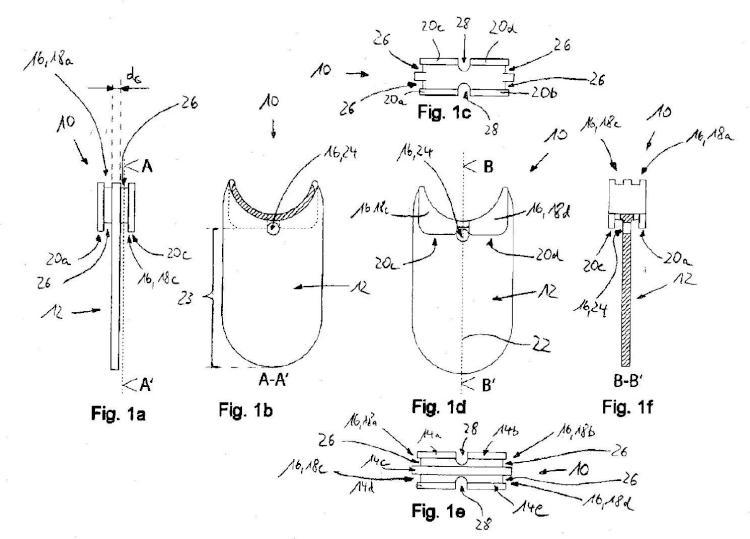 Soporte de anillos, sistema constituido por un soporte de anillos y un display de anillos, así como procedimiento para conectar un anillo con un soporte de anillos.