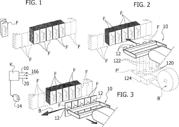 Dispositivo y método para llenar contenedores.