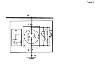 Descargador de intervalos con tensión de activación y desactivación controlada y ajustable para lineas de ferrocarril electrificadas en corriente continua.