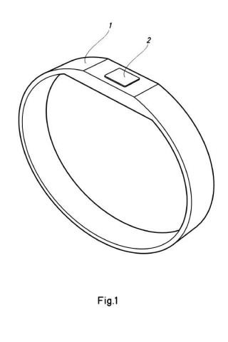 Pulsera identificativa destinada a albergar un dispositivo electrónico de identificación a distancia.