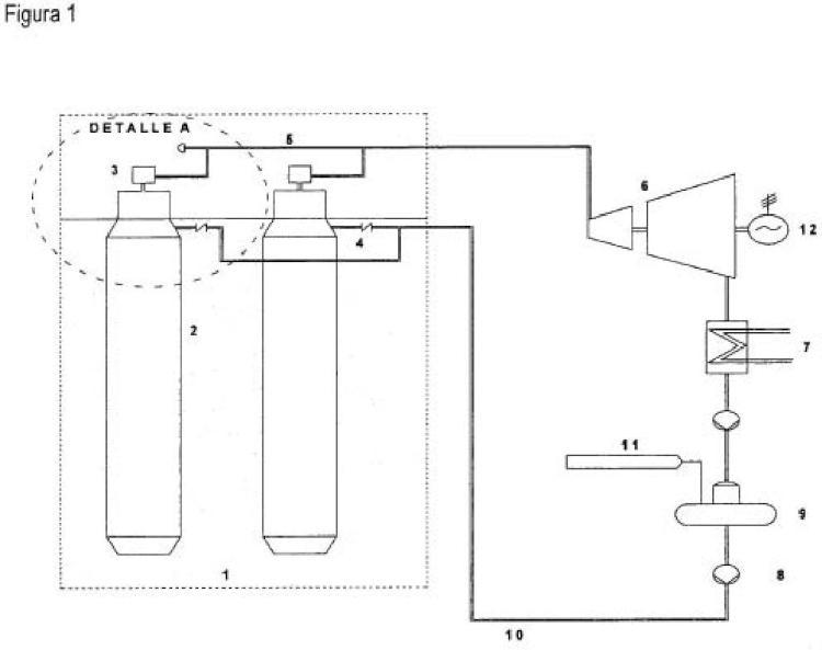 Central eléctrica geotérmica con geiseres artificiales.