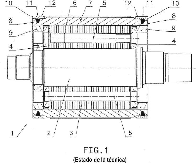 Rotor para máquinas asincrónicas.