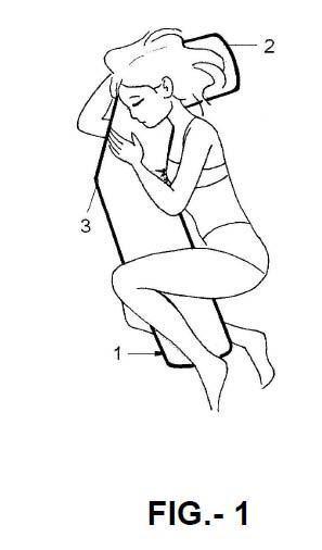 Almohada terapéutica perfeccionada.