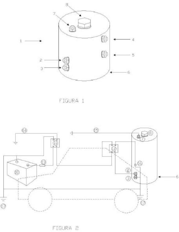 Generador de hidrógeno de consumo instantáneo para motores de combustión.