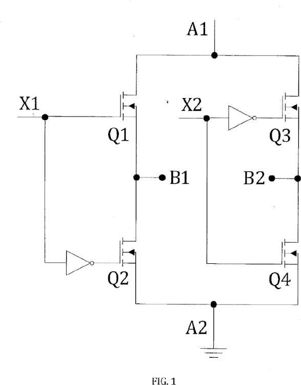 Método y circuito de conducción de un convertidor de puente completo con modulación de ancho de pulso digital.