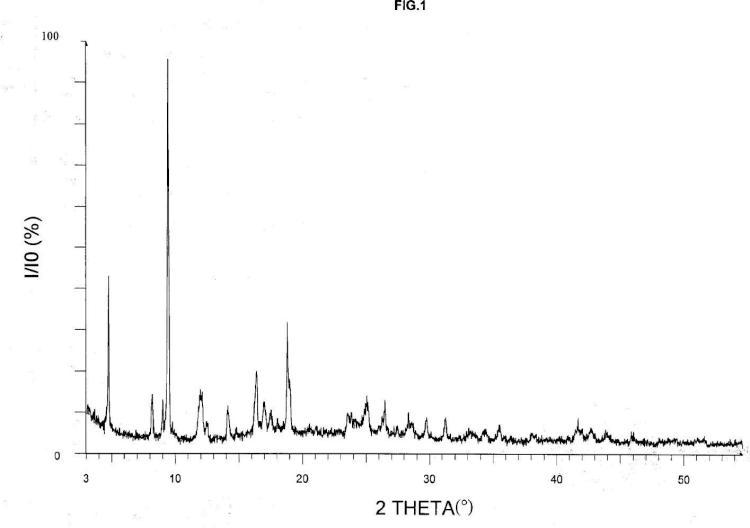 Nuevo sólido híbrido orgánico-inorgánico ihm-2-n3 provisto de una función azida y su procedimiento de preparación.
