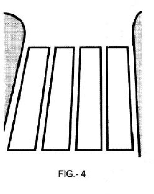 Señalizaciones de superficie permanentes.