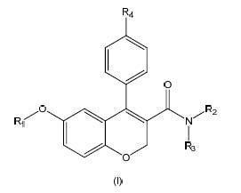 Derivados de cromeno como inhibidores de la interacción TCR-Nck.
