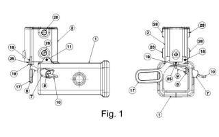Enganche automático de extracción vertical.
