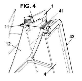 Dispositivo de sujeción de artículos para asientos de vehículos.