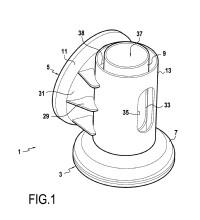 Dispositivo de rodamiento para góndola de aerogenerador.