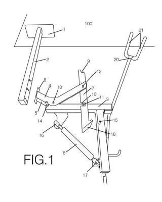 Dispositivo de sujeción para bicicleta.