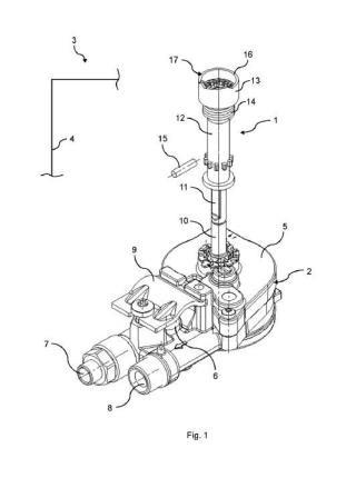 Dispositivo de accionamiento para una válvula de gas, válvula de gas, y punto de cocción.