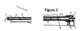 Procedimiento de modificación de armas de fuego y arma detonadora resultante.