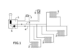 Procedimiento de control de un sistema de calefacción.