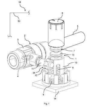 Dispositivo de accionamiento para una válvula de gas, válvula de gas, y encimera de cocción.