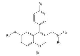 Derivados de cromeno sustituidos por alcóxido como inhibidores de la interacción TCR-Nck.