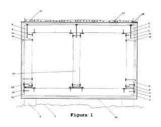 Sistema de construcción de edificación modular con prefabricados de hormigón.