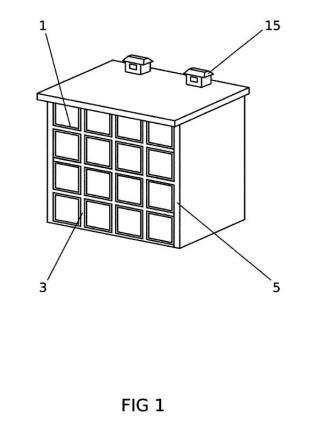 Nichos modulares funerarios de paneles ligeros sin estructura.