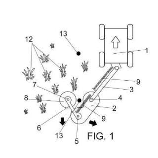 Sistema desbrozador para márgenes viales con obstáculos y otros.
