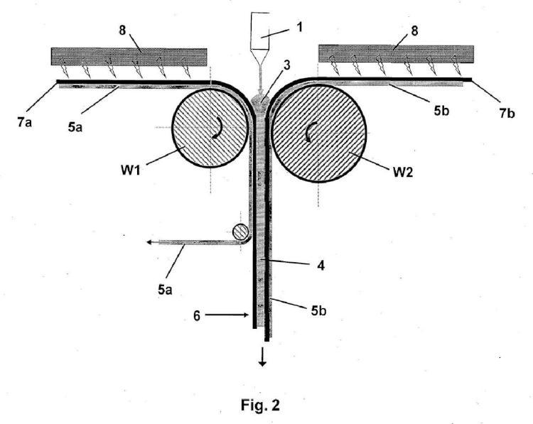 Bandas adhesivas de montaje estructuradas con tres capas a base de masas fundidas calientes de acrilato viscoelásticas, reticuladas térmicamente.