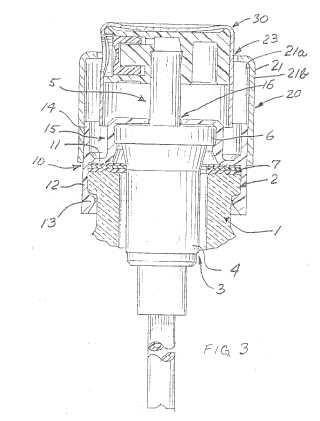 Dispositivo y procedimiento para la fijación de un órgano de distribución.