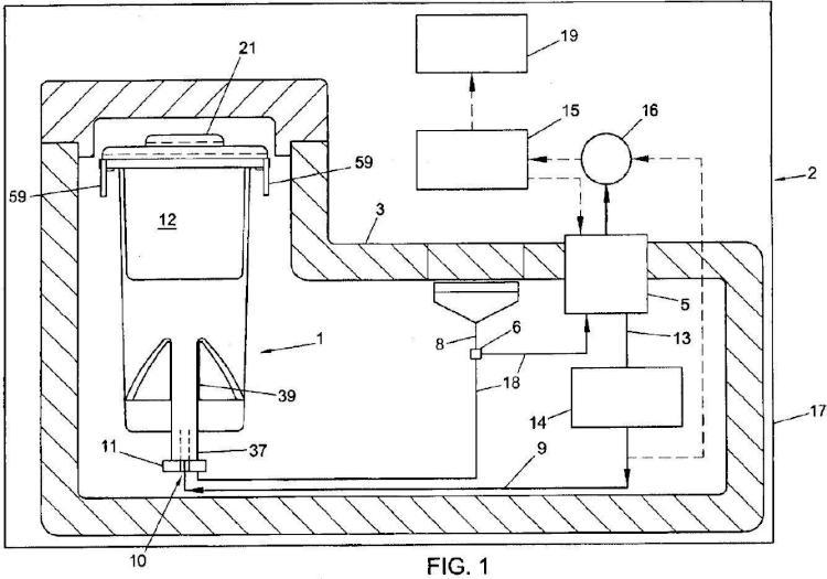 Ilustración 1 de la Galería de ilustraciones de Sistema contenedor para transporte de órganos