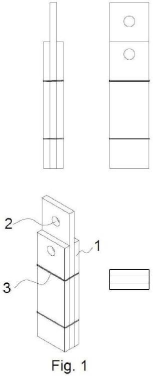 Dispositivo para la instalación limpia de perfiles y postes de anclaje provisionales en estructuras de hormigón.