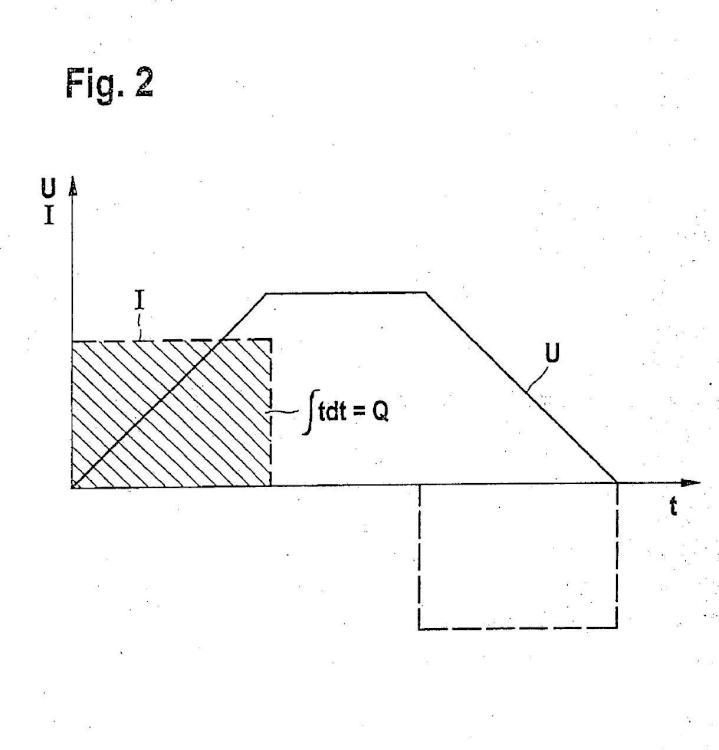 Procedimiento para la diagnosis de un dispositivo de inyección de combustible, que presenta un actuador piezoeléctrico.
