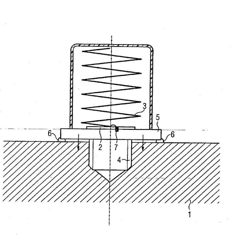 Marca de identificación para la identificación de objetos con superficie metálica.