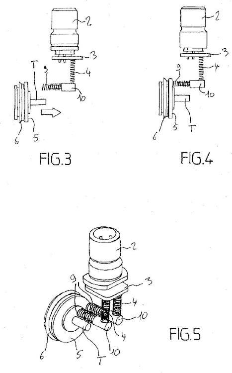 Dispositivo de detección de posición de corredera de distribuidor neumático.