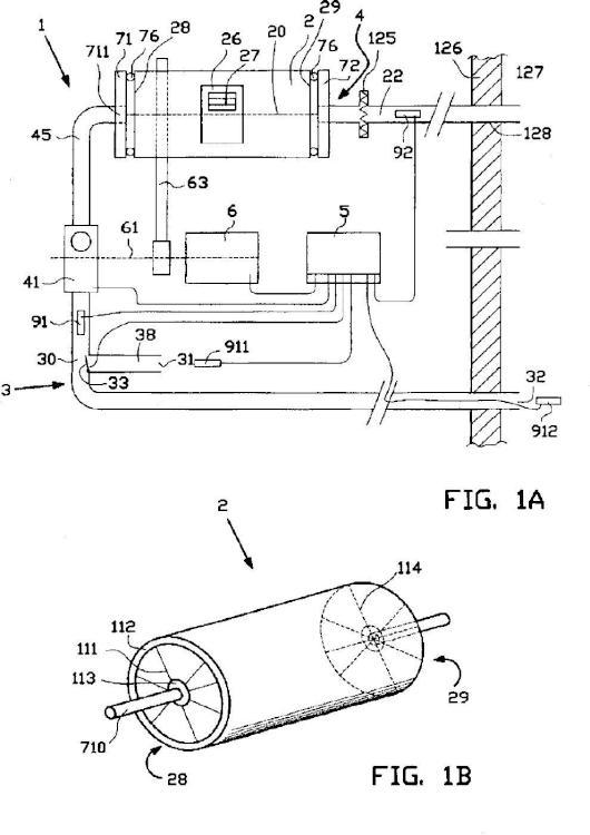 Secadora de tambor horizontal con flujo de aire optimizado.