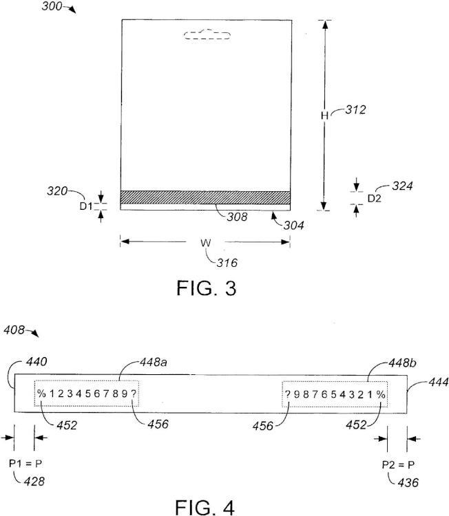 Ilustración 3 de la Galería de ilustraciones de Procedimientos y sistemas para la codificación de una banda magnética
