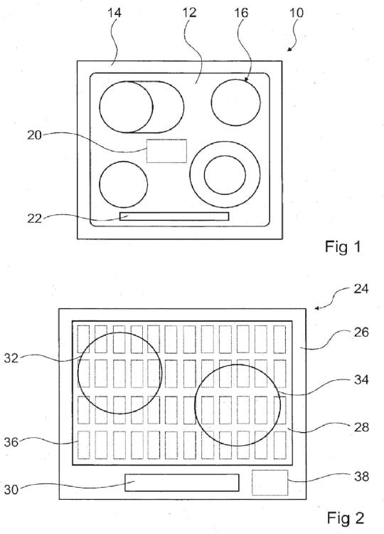 Circuito de dispositivo calentador.