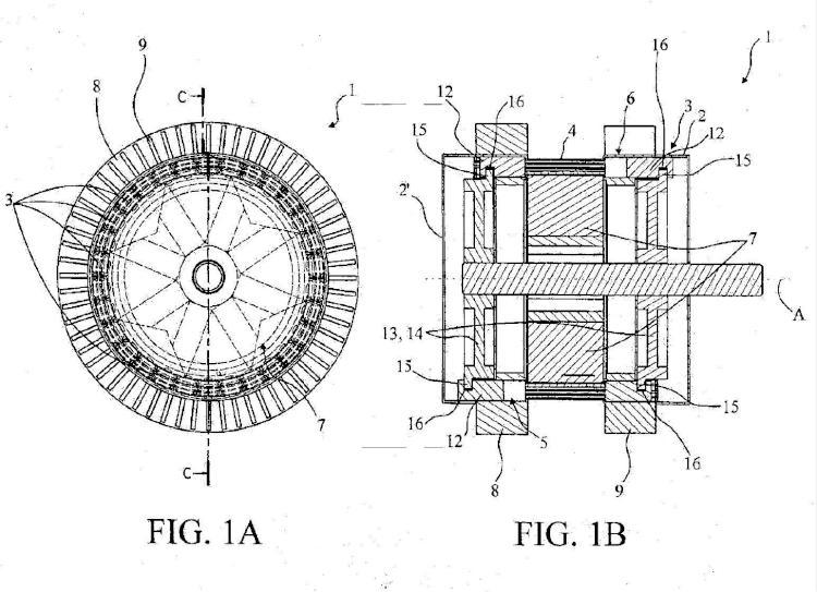 Generador térmico magnetocalórico.