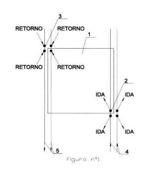Sistema de suelo radiante sobrepuesto, prefabricado y desmontable.